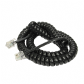 BT Telephone Handset Cord (Black/White/Charcoal Grey)